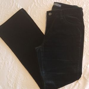 GAP Bootcut Stretch Velvet Pants